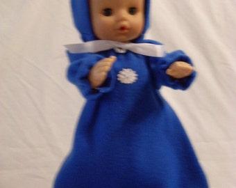 """15-16"""" Royal Blue Bunting and Hood Set"""
