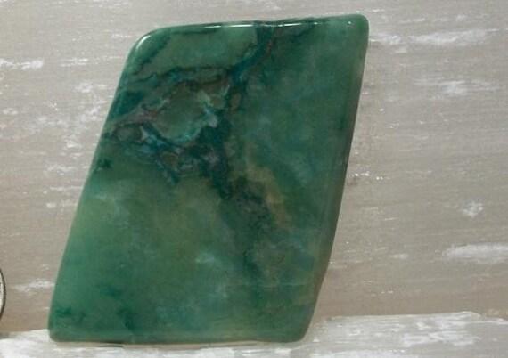 African Jade Large Polished Stone - Green Budd Stone