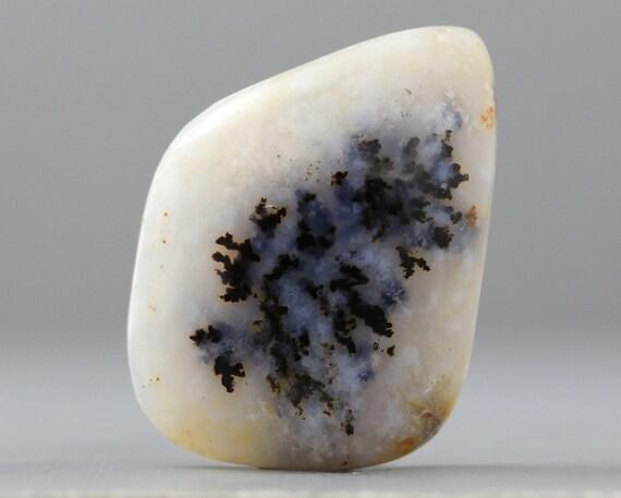 SALE - CLEARANCE - Dendritic Agate Free Form, Flat Back, Semi Precious Gemstone Cabochon - 29mm (C968)