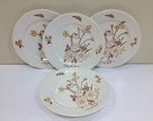 Americana Dreamer Royal China Dessert Plates Ceramic Dinnerware