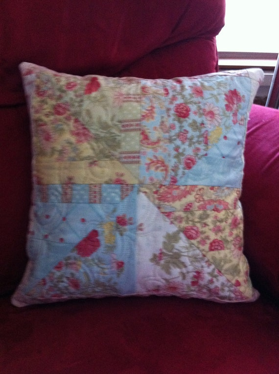 Pastel QUILTED PILLOW