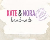 Sewing business premade logo ooak logo design with watermak boutique logo