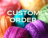 Custom Listing for Leah