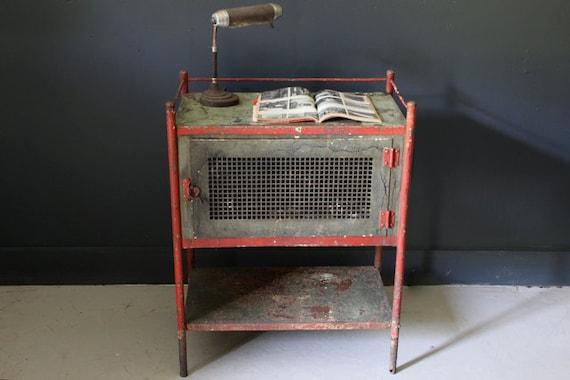 Antique Industrial Pie Safe, Cabinet