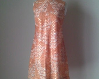 Vintage Shimmering Shift Dress