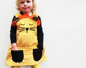 girls dress,baby dress, lion costume,wild things,