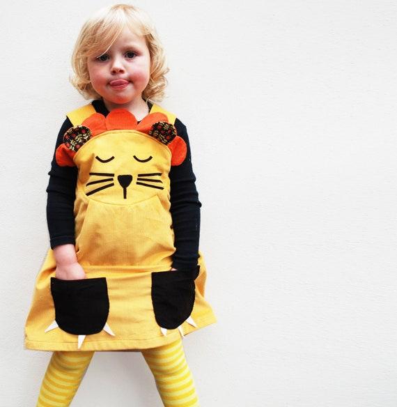 girls dress,baby dress, lion costume,wild things,