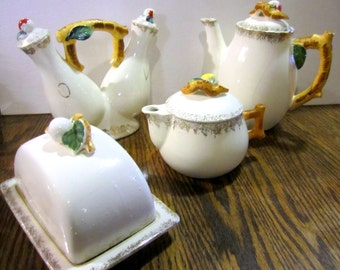 Vintage Ceramic Serving Set