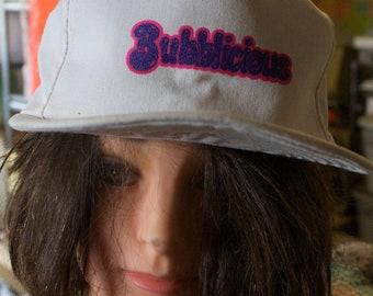 bubblicious hat vintage snap back