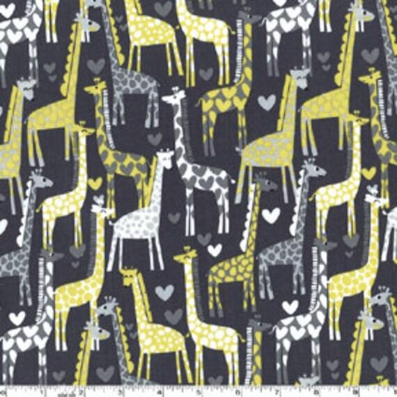 Gray Giraffe Love From Michael Miller