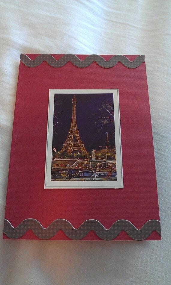 Paris At Night Passport Cover