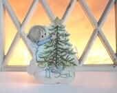 Hallmark Betsy Clark Cardboard Christmas Decoration
