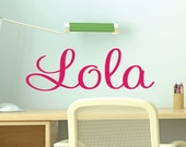 Personalized Childrens Decor  Name Wall Decal - Name Wall Decal - Custom Monogram Vinyl Wall Art - Name Vinyl Lettering