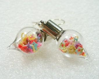 Confetti Sprinkles Earrings.