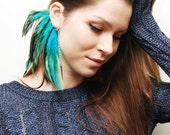 Feather Ear Cuff - Laguna