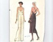Vogue Dress Pattern 7387: Size 10, Uncut Sewing Pattern, Evening Dress