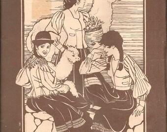 Bolivian Milkmaid's Jacket: Size 8 10 12 14, Bust 31 33 34 36, Uncut Vintage Folkwear Sewing Pattern 124