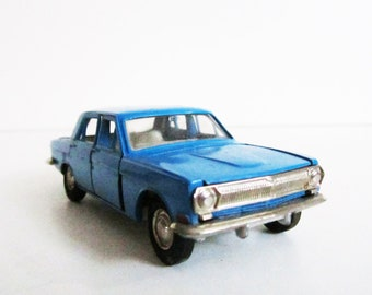 VINTAGE metal Soviet CAR. Use for mixed media art, props, assemblage, shadow box, home decoretc.