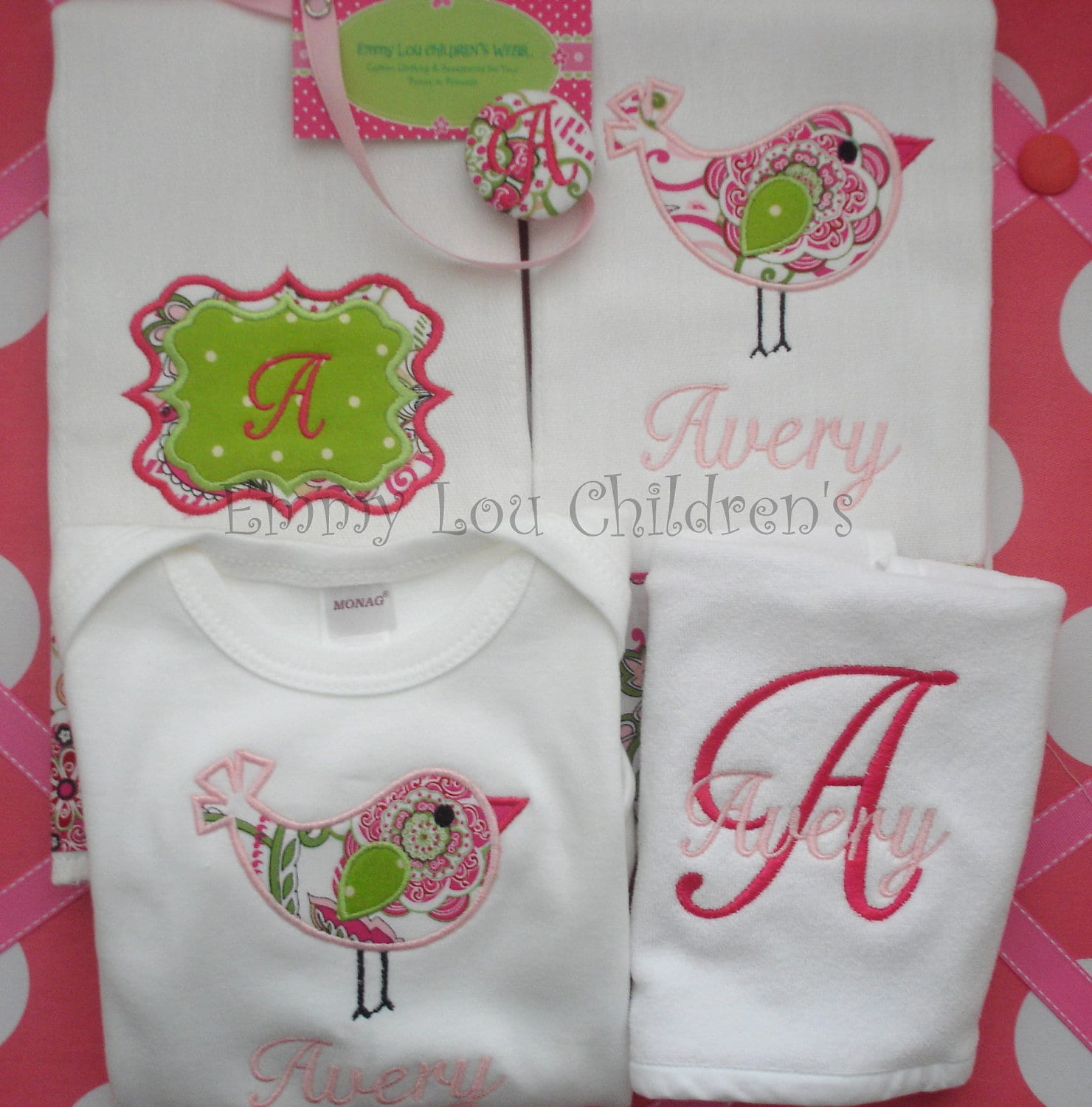 Embroidered Baby Gift Ideas : Embroidery gifts makaroka