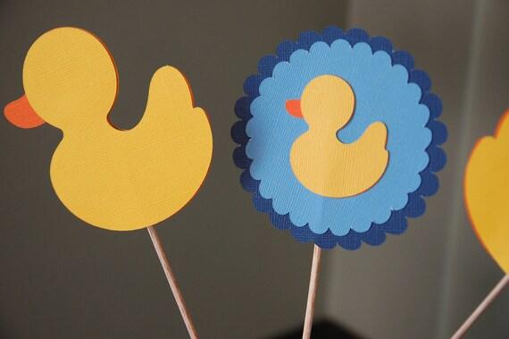 duck centerpiece rubber duck baby shower boy baby shower duck