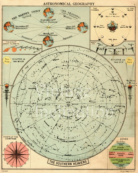 astronomy charts printable - photo #49