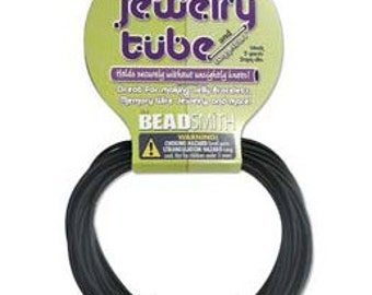 Jewelry Tube Black or  Brown  for Memory Wire & More