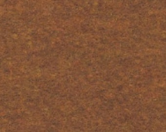 "18"" x 24"" Cinnamon Brown Acrylic Felt FQ - equal to 4 Sheets Felt"