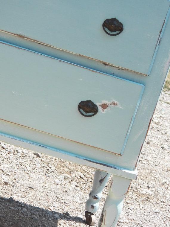 Beachy Shabby Chic Dresser