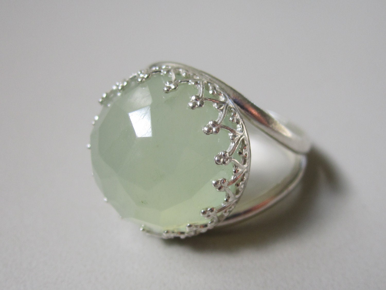 items similar to jade ring sterling silver ring silver