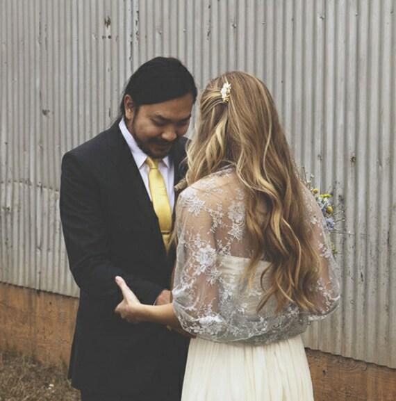 Plus Size Shrug Wedding Silver Lace Shawl/ Shrug. Wear As A Shrug, Shawl, Twisted Shawl Or Scarf. Wedding Bridal Cover Up Lace Shawl (DL-ps)