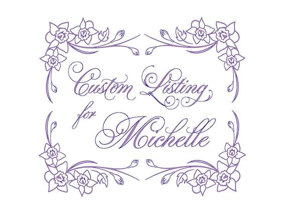 Custom Listing for Michelle - Oil & Vinegar Cruets and Vase