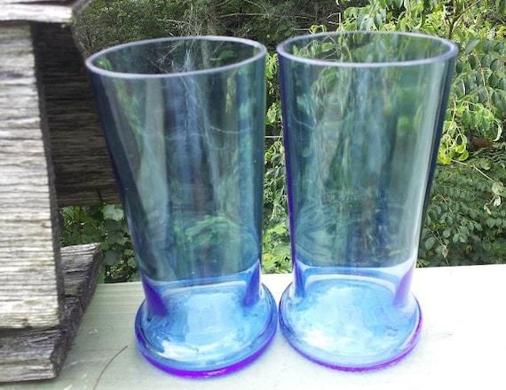 Upcycled Pinnacle vodka pint glasses