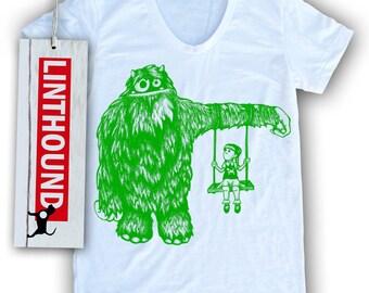 Monster Camouflage Women's T-Shirt