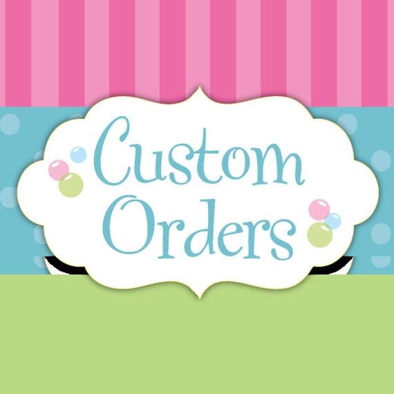 Custom Order For Adjua Ferguson