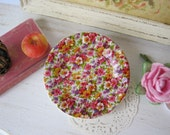 Chintz Profusion Plate for Dollhouse