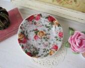Springtime Chintz Dollhouse Plate