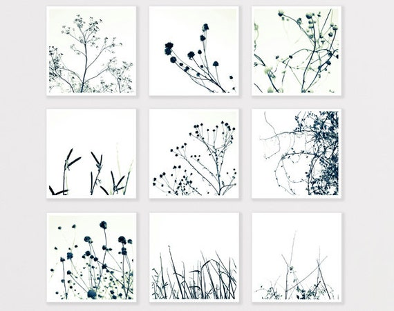Nature Photo Print Set 8X8 to 40x40 Black and White Minimalist Bulk Wall Home decor for man gift for him, express shipping