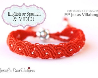TUTORIAL Micro Macrame -Español- Pulsera Exotic Twisted Path