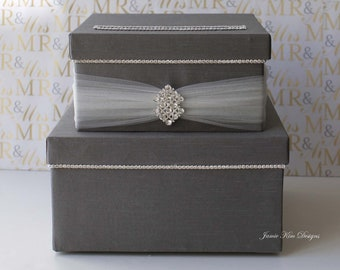 Wedding card box,  Wedding Card Holder ,Wedding Money Box - Custom Made to Order