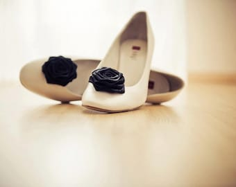 Black Shoe Clips