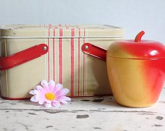 Vintage Hazel Altas Apple Jam Jar