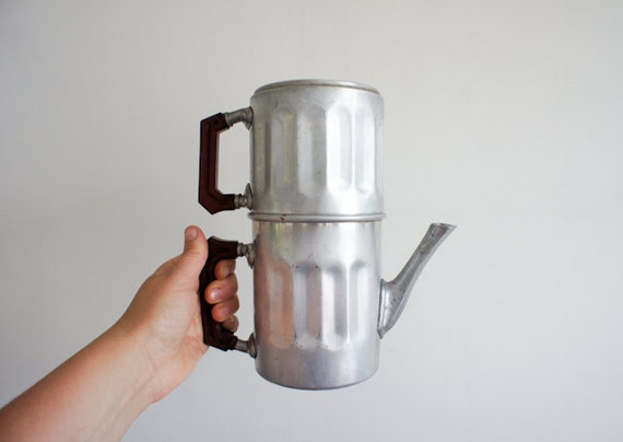 vintage french coffee maker from the 40's