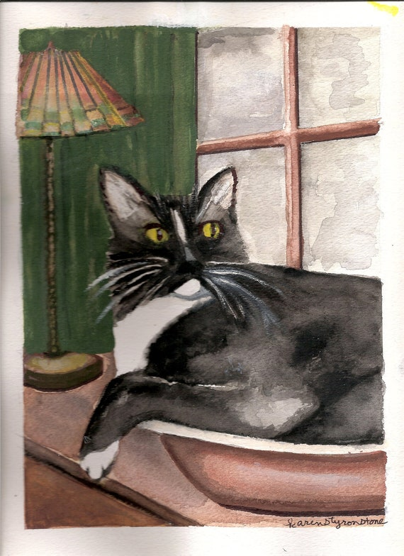 Cat in the Bowl