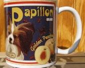 Papillon Crate Label Coffee Mug