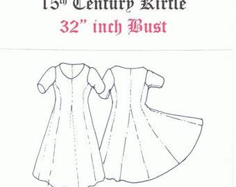 15th Century  Kirtles