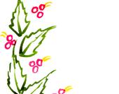 Handpainted Greeting Card Candle Holly Berries Seasons greetings Watercolor Art Christmas Women Teens Blank Red Greenunder 10