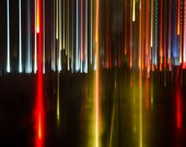 New York City Streaks, 16x24 Abstract Fine Art Photography Print