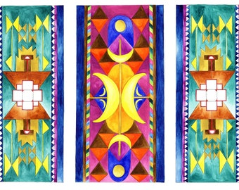 Magic Carpets II Art Print: 8x10