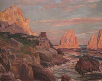 Listed Artist*** Otto Serner*** Original OIL PAINTING 1927