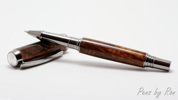Hawaiian Koa handcrafted rollerball pen